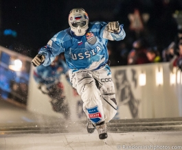 Random Irish photo photograph of skater in Red Bull Crashed Ice event in Belfast